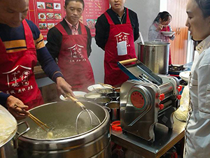 重庆小面培训教学现场