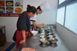 重庆小面培训一对一教学现场